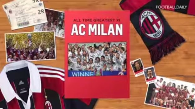 All-Time Greatest AC Milan XI