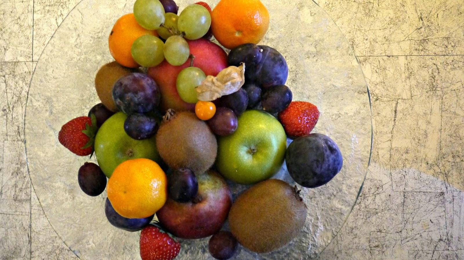 The Corinthia hotel budapest fruit platter