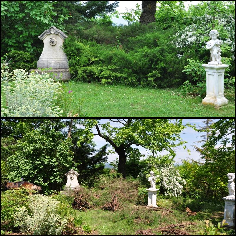Le jardin du bois joli un petit coin de jardin romantique - Petit jardin romantique tours ...
