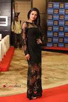 Actress Soniya Stills in Beautiful Black Long Dress at SIIMA Short Film Awards 2017 .COM 0068.JPG