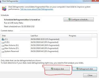 cara mendefrag disk gratis