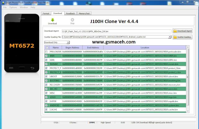 J100H Clone firmwares
