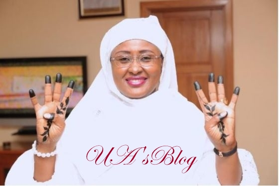 Aisha Buhari disagrees with Rochas over support for Uche Nwosu