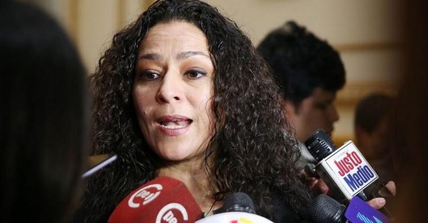 Fujimorista Cecilia Chacón presidirá Comisión de la Mujer del Congreso de la República