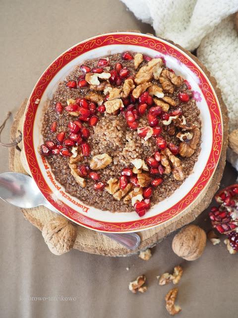 czekoladowa quinoa
