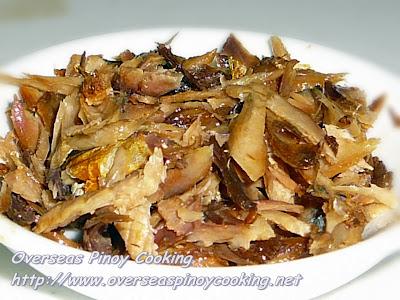 Dried Fish Flakes