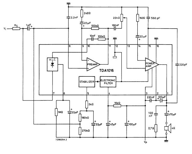 a.c voltage stabilizer circuit diagram
