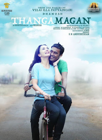 Poster Of Free Download Thanga Magan 2015 300MB Full Movie Hindi Dubbed 720P Bluray HD HEVC Small Size Pc Movie Only At worldfree4u.com