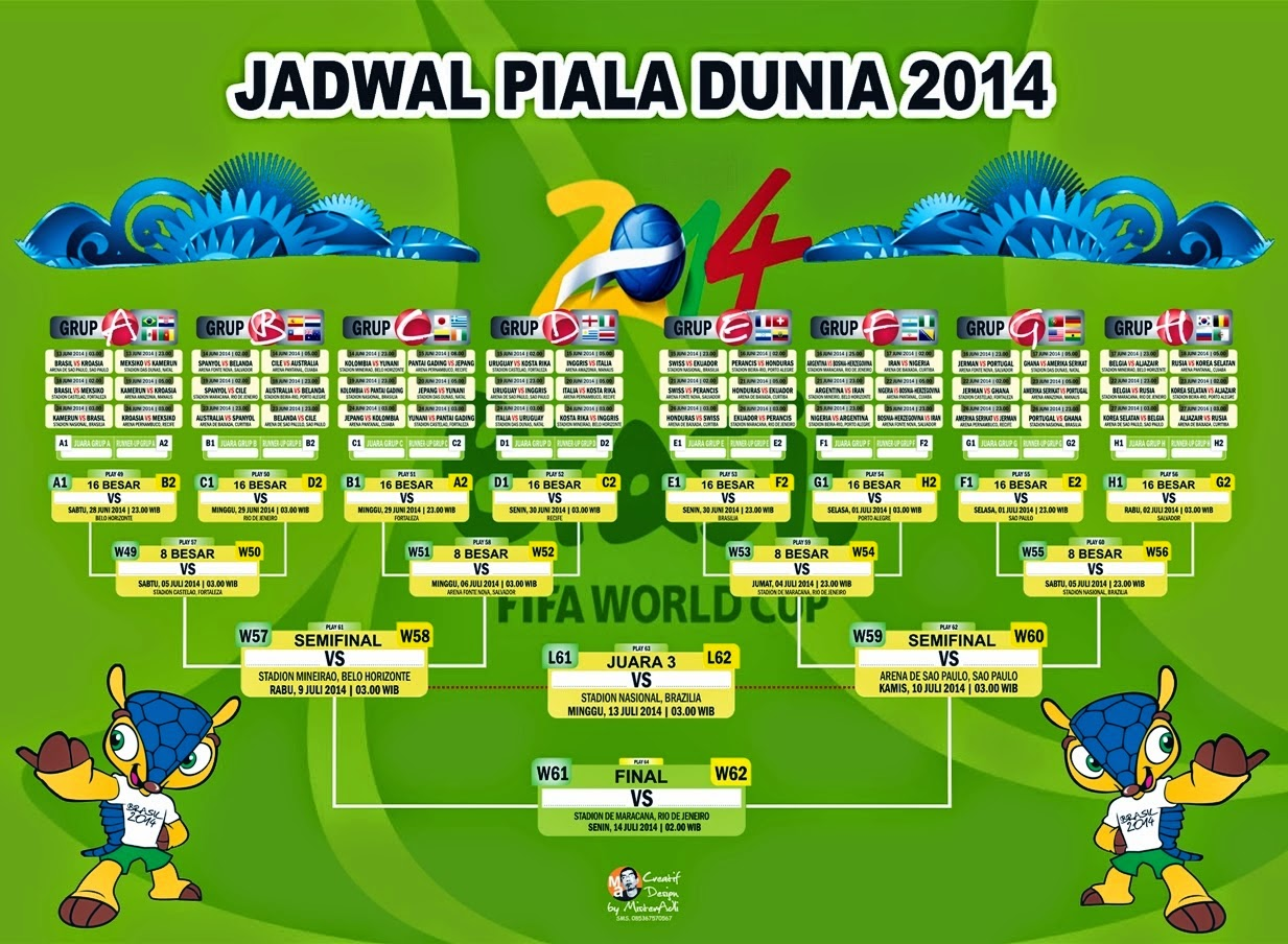 Download gratis jadwal piala dunia 2014 brazil fase grup   namafb. Com.