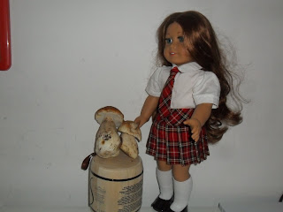 Doll school uniform