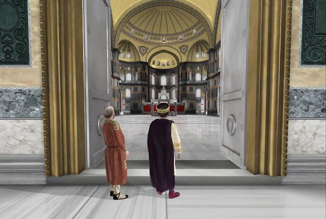 Αρχαιολογικό Μουσείο Ηγουμενίτσας συνεχίζονται και τον Οκτώβριο οι προβολές εικονικής πραγματικότητας για την Αγια Σοφιά