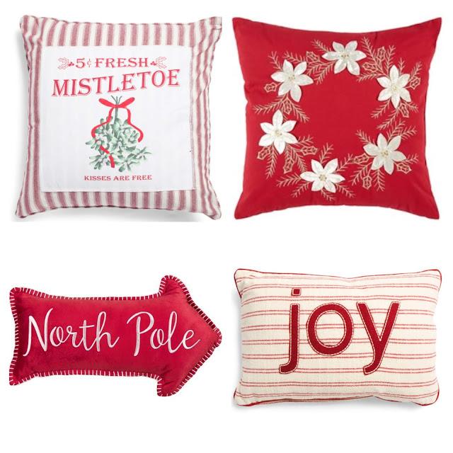 cheap christmas throw pillows