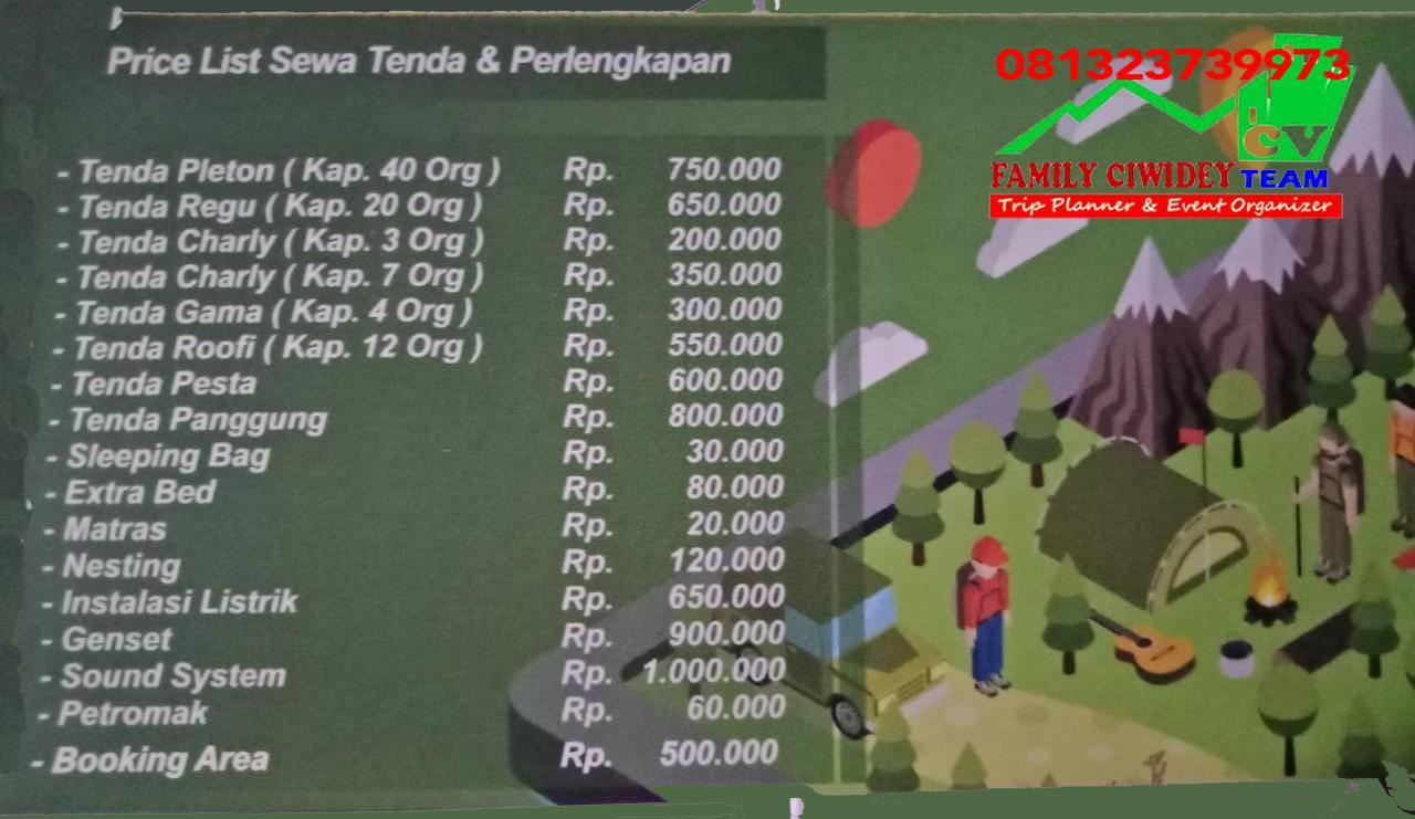 Harga Tiket Masuk Kampung Cai Rancaupas Ciwidey Bandung 9