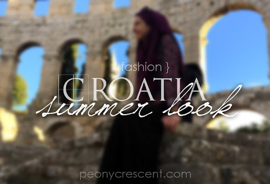 Peony Crescent by Nisa Hilal: { Fashion } Croatia Summer Look