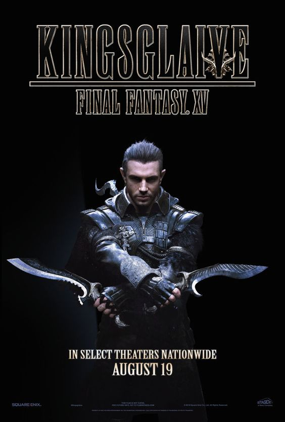 J B Spins Kingsglaive Final Fantasy Xv See It Before You Play It