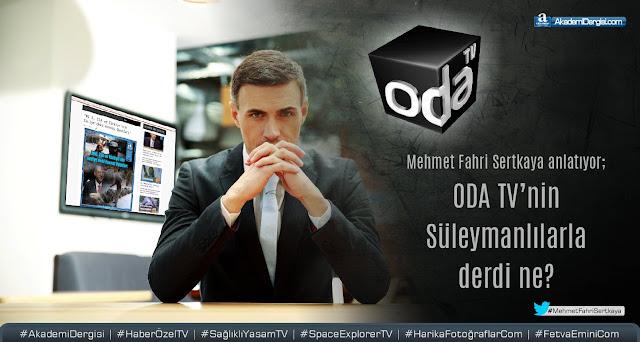 Bu ne çirkin bir hareket böyle... ODA TV'nin Süleymancılarla derdi ne? [video]