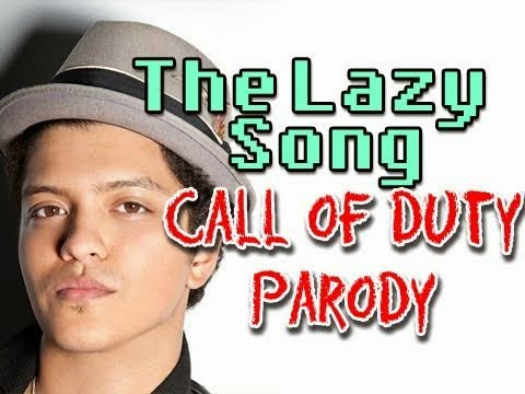 Lirik Lagu Dan Chord Gitar Bruno Mars - The Lazy Song