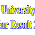 National University Honours 1st Year Result 2017 www.nu.edu.bd