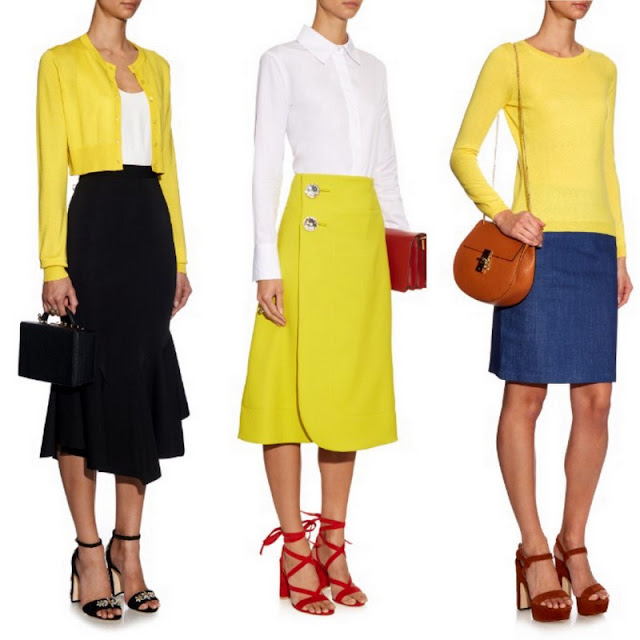 Sunny yellow looks from Matchesfashion.com