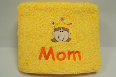 Personalized Towel as mother's day gift
