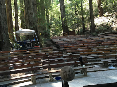 Cazadero Music Camp Amphitheatre Microphone 2016