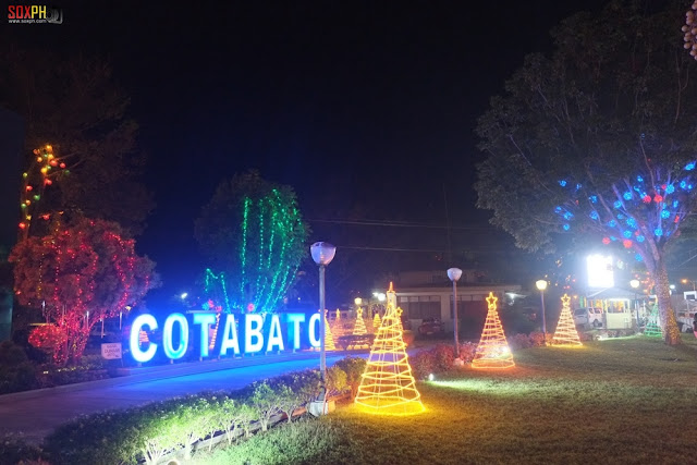 A colorful South Cotabato Provincial Capitol this Christmas