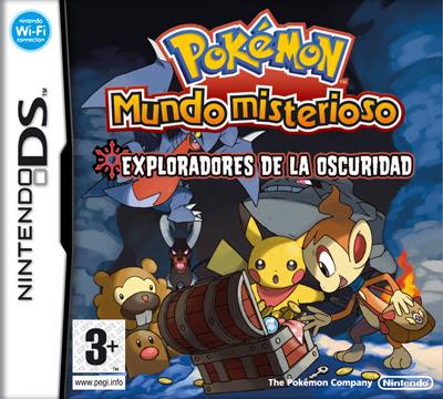 2412 Pokemon Mystery Dungeon - Explorers of Darkness 5D8D853A ROM pokémon mundo misterioso