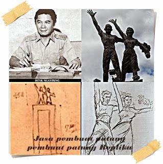 Pembuatan patung Bundaran HI dan sejarahnya