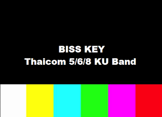 Biss Key Satellite Thaicom 5/6/8 KU Band