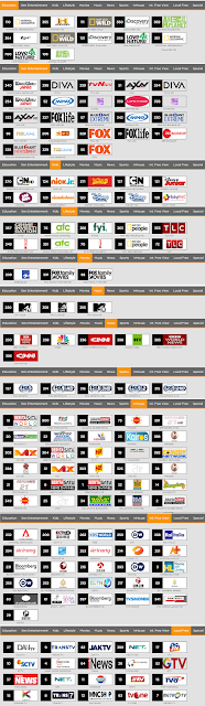 List Channel Paket First Media Combo Elite X1