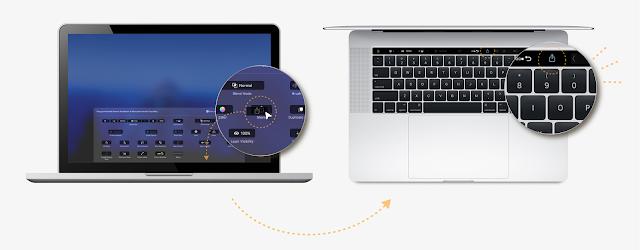 أدوبي فوتوشوب يدعم شريط اللمس في أجهزة ماك بوك برو الجديدة في تحديثه الأخير