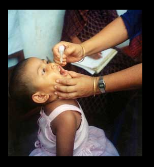 health benefits of the polio vaccine for children