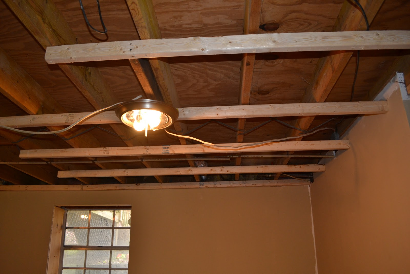 Basement Ceiling Installation