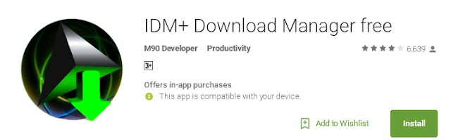 IDM For Android+Download Manager Free
