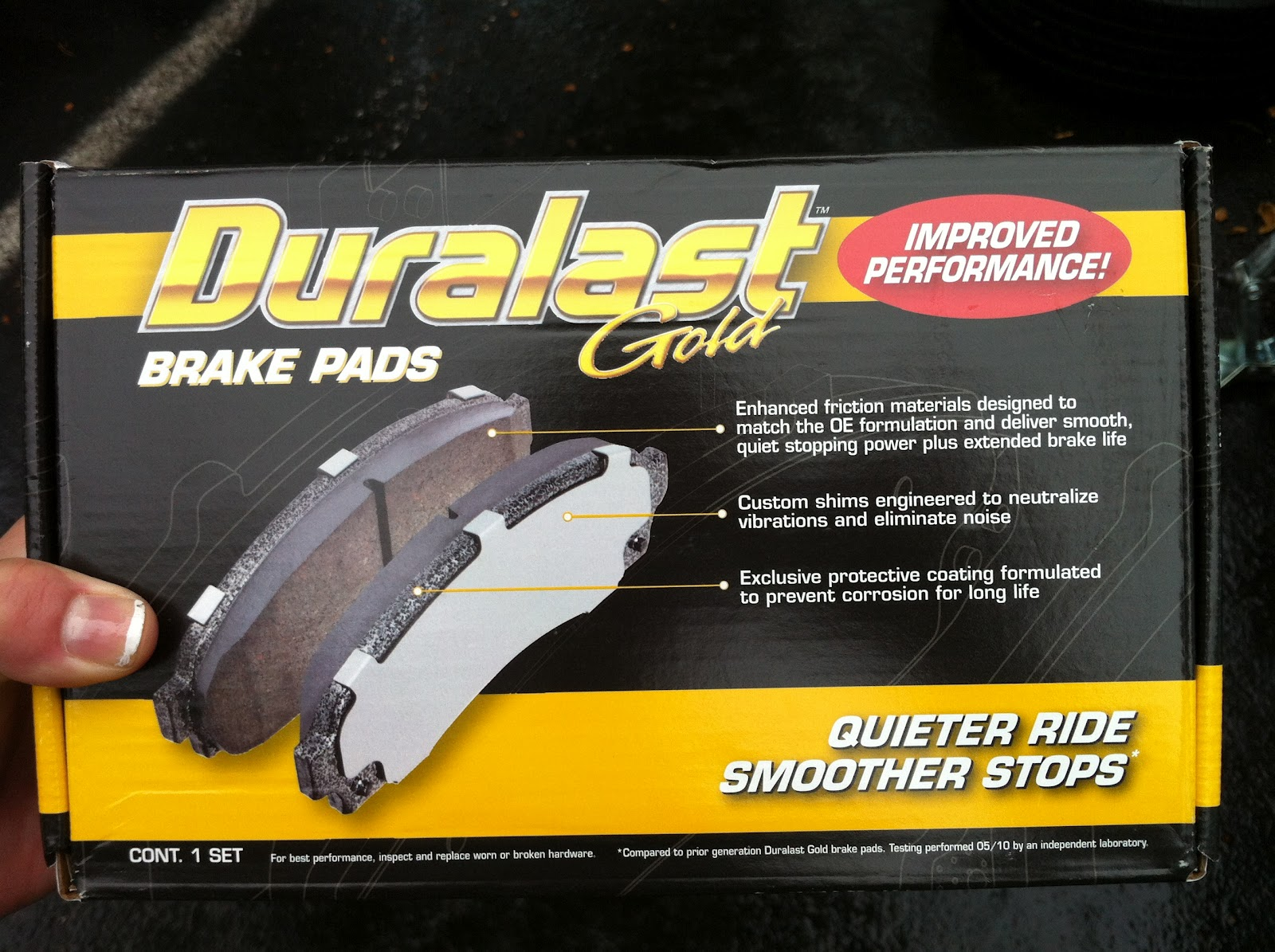 Rhymes With Laundry How To Change Your Brake Pads When Step 1 Buy New From Local Auto Parts Store