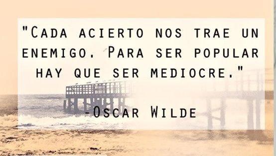 20 frases de Oscar Wilde que te harán reflexionar
