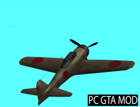 Free Download Rustler - A6M Zero [SA Style] Mod for GTA San Andreas.