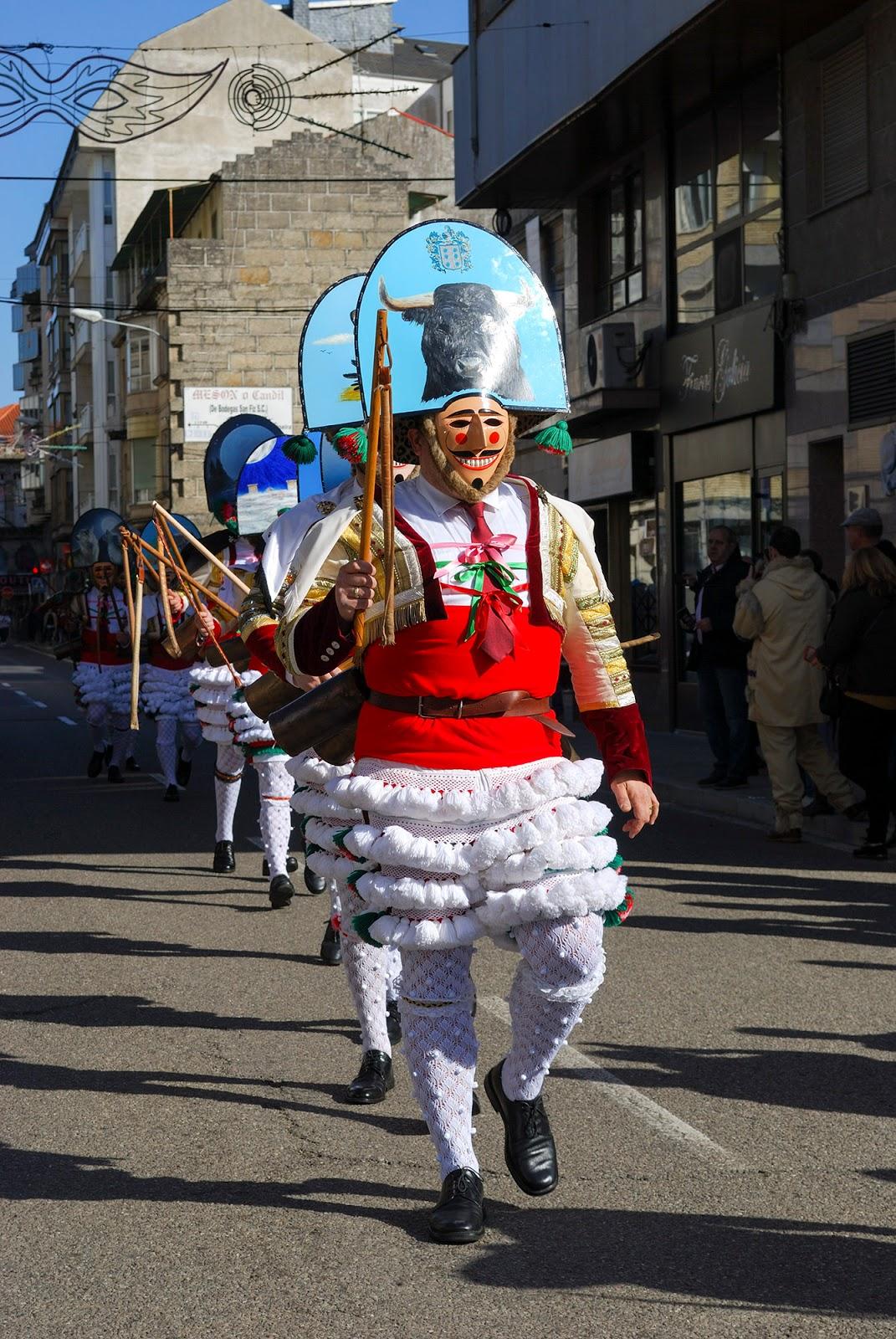 carnival carnaval entroido verin cigarron galicia spain