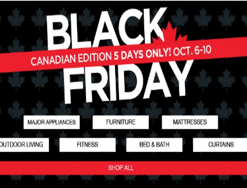 Sears Canadian Black Friday + Promo Codes