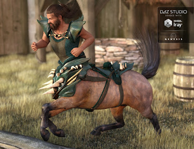 Kentauros Centaur Outfit Textures