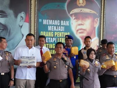 Produsen Garam Tak Berizin BPOM RI Diamankan Polda Lampung