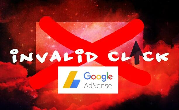 invalid click klik tidak wajar google adsense