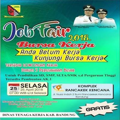 Bursa Kerja Bandung Timur 2018