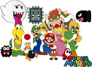 Download do vetor Super Mario Bros para Illustrator