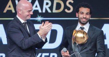 صلاح يتحدث بعد فوزه كأحسن لاعب عربي