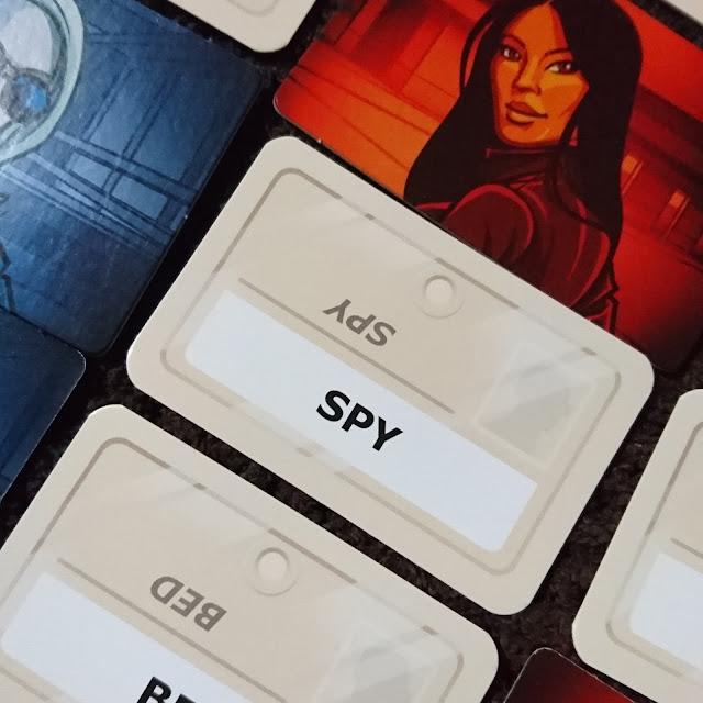 Codenames spy card