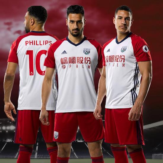 West Bromwich 17 18 Away Kit Released Footy Headlines