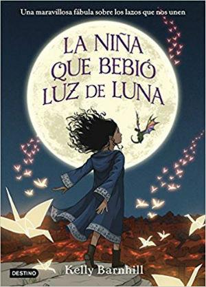 Libro infantil niños halloween La niña que bebió luz de luna