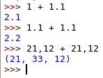 Números flutuantes em Python