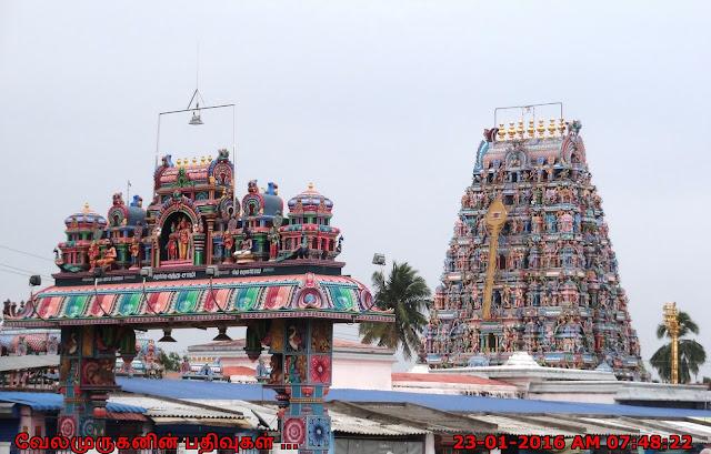 Tirup porur Murugan Temple